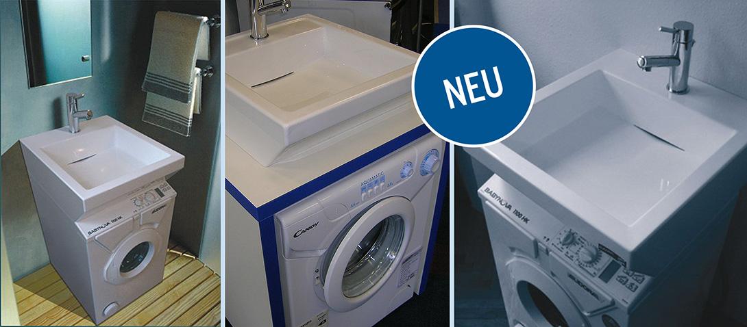Favorit Waschbecken über Ihrer Waschmaschine | REPASAN JV32